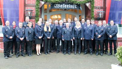 Der aktuelle Kreisjugendfeuerwehrausschuss der Kreisjugendfeuerwehr Verden. Foto: K. Müller