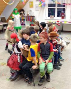 Die Löschlöwen Wolfenbüttel feierten eine ausgelassene Karnevalsparty. Foto: Kadereit