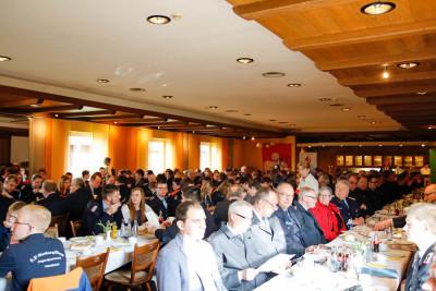 Der Kreisjugendfeuerwehr-Tag 2016 in Warpe war gut besucht. Foto: Henkel