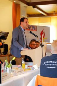 """""""Ihre Arbeit ist unbezahlbar"""", lobte Bundestagsabgeordneter Maik Beermann. Foto: Henkel"""