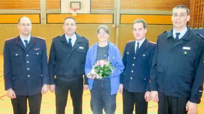 Anke Meyer wurde für ihre langjährige Arbeit ausgezeichnet. Foto: Schwanitz