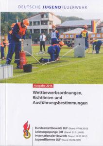 Das überarbeitete Wettbewerbsheft der Deutschen Jugendfeuerwehr.