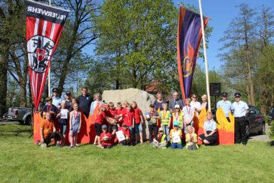 Der Kreis-Kinderfeuerwehrtag in Verden war ein voller Erfolg. Foto: Müller