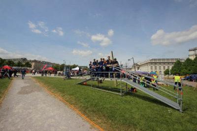 Die Jugendfeuerwehr Grone nahm am hessischen Aktionstag teil.