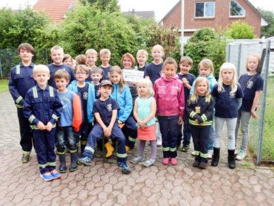 Die Löschlöwen Watenbüttel feierten ihr 4-jähriges Bestehen. Foto: Kadereit