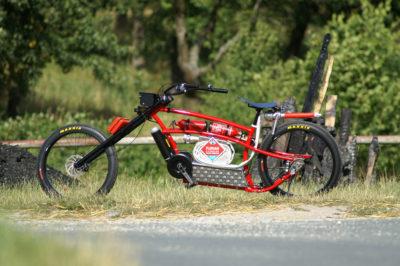 Das Feuerwehr-E-Bike zur FLORIAN 2016. Foto: Zeptar