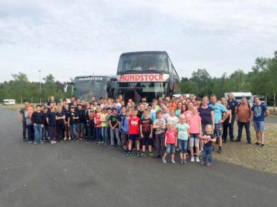 Sieben Braunschweiger Jugendfeuerwehren besuchten den Heide-Park. Foto: Kadereit