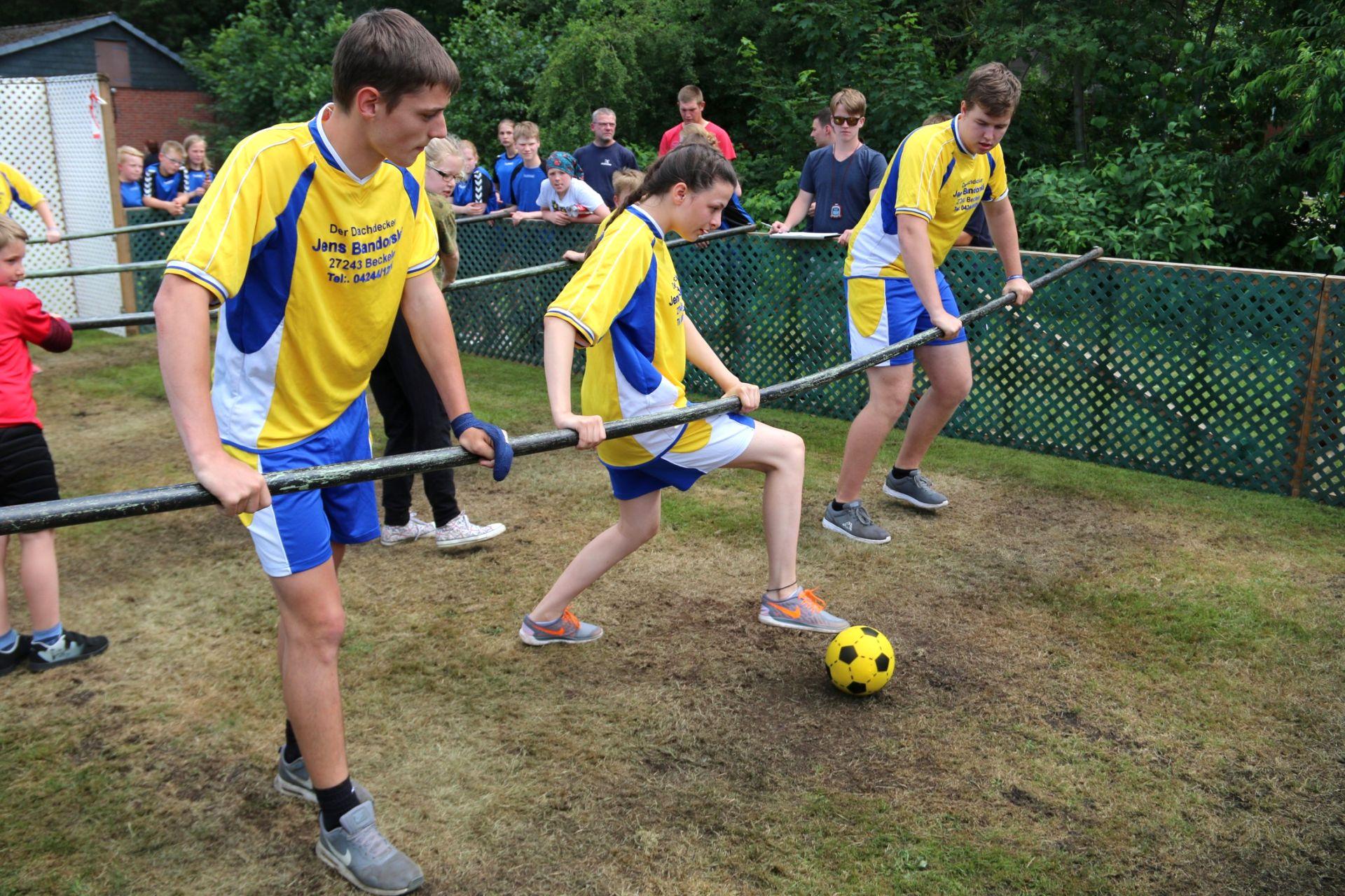 Sportliche Spiele